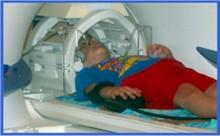 Child MRI study example.