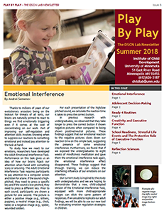 Image of the first page of the summer 2018 newsletter