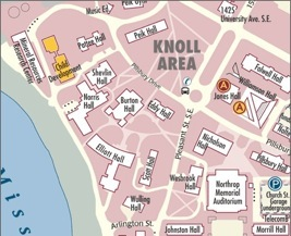 Campus Map to ICD