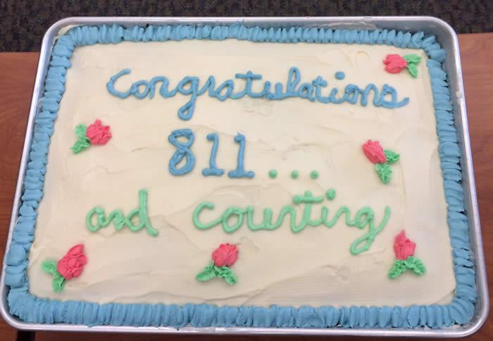 800 cake
